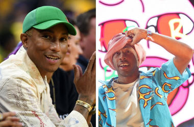 Pharrell and Taylor, the Creator