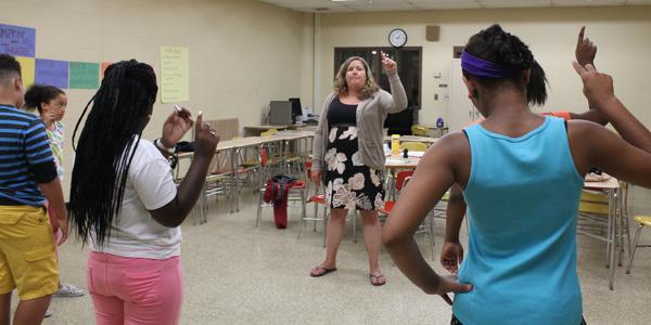 Baltimore Improv Group at YA Summer Camp