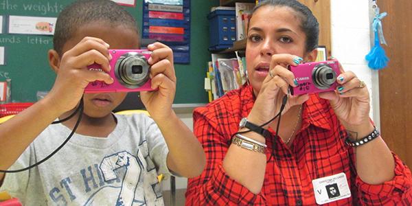 Christina Delgado at Moravia Park P.R.I.D.E