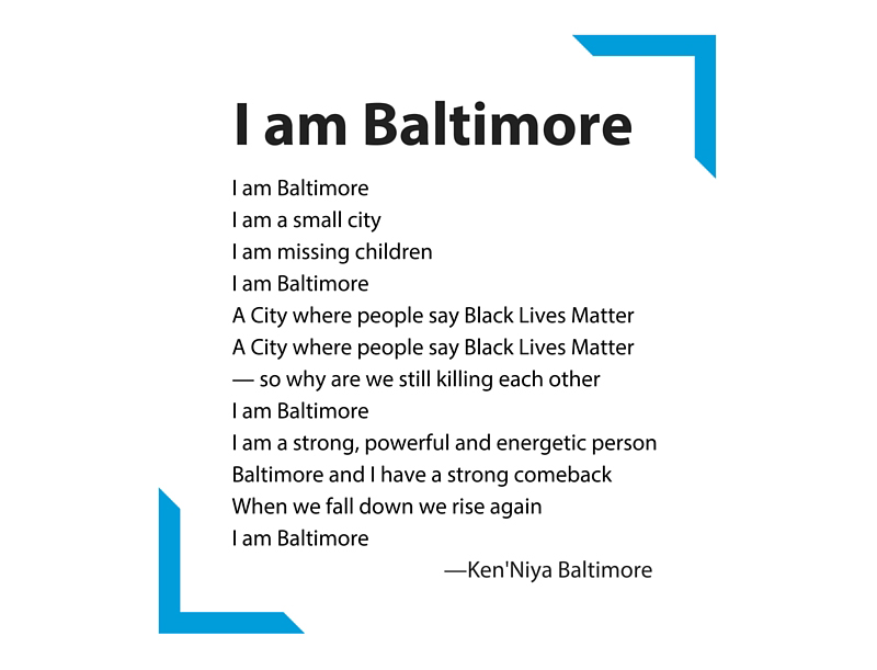 I am Baltimore by KenNiya Baltimore