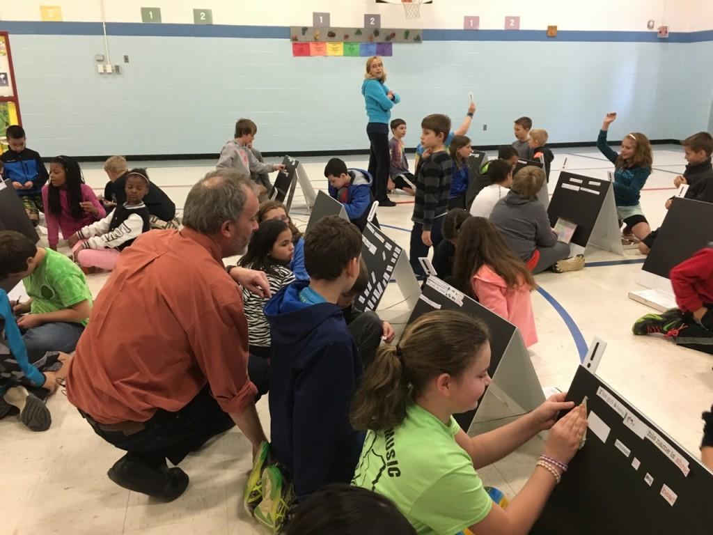 Alden Phelps at Sandymount Elementary School