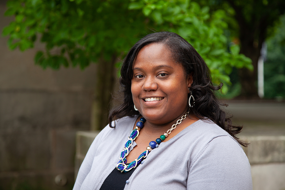 Portrait of Cecil Elementary Principal Aleesha Manning