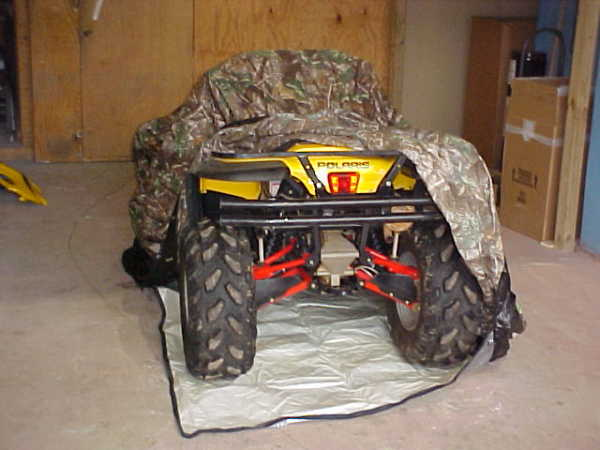 ATV Cover Rust Protection