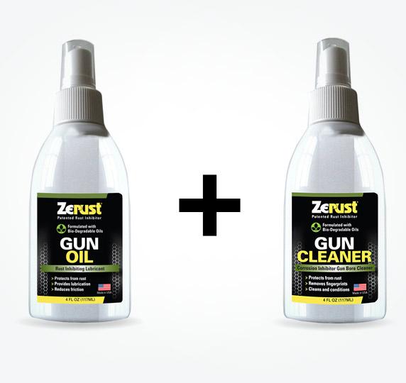 Gun Oil and Gun Cleaner Special