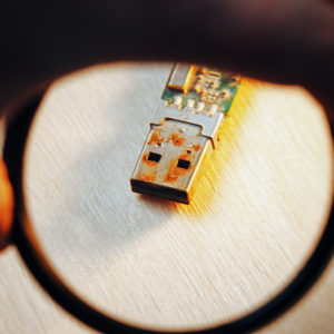 rust on electronics