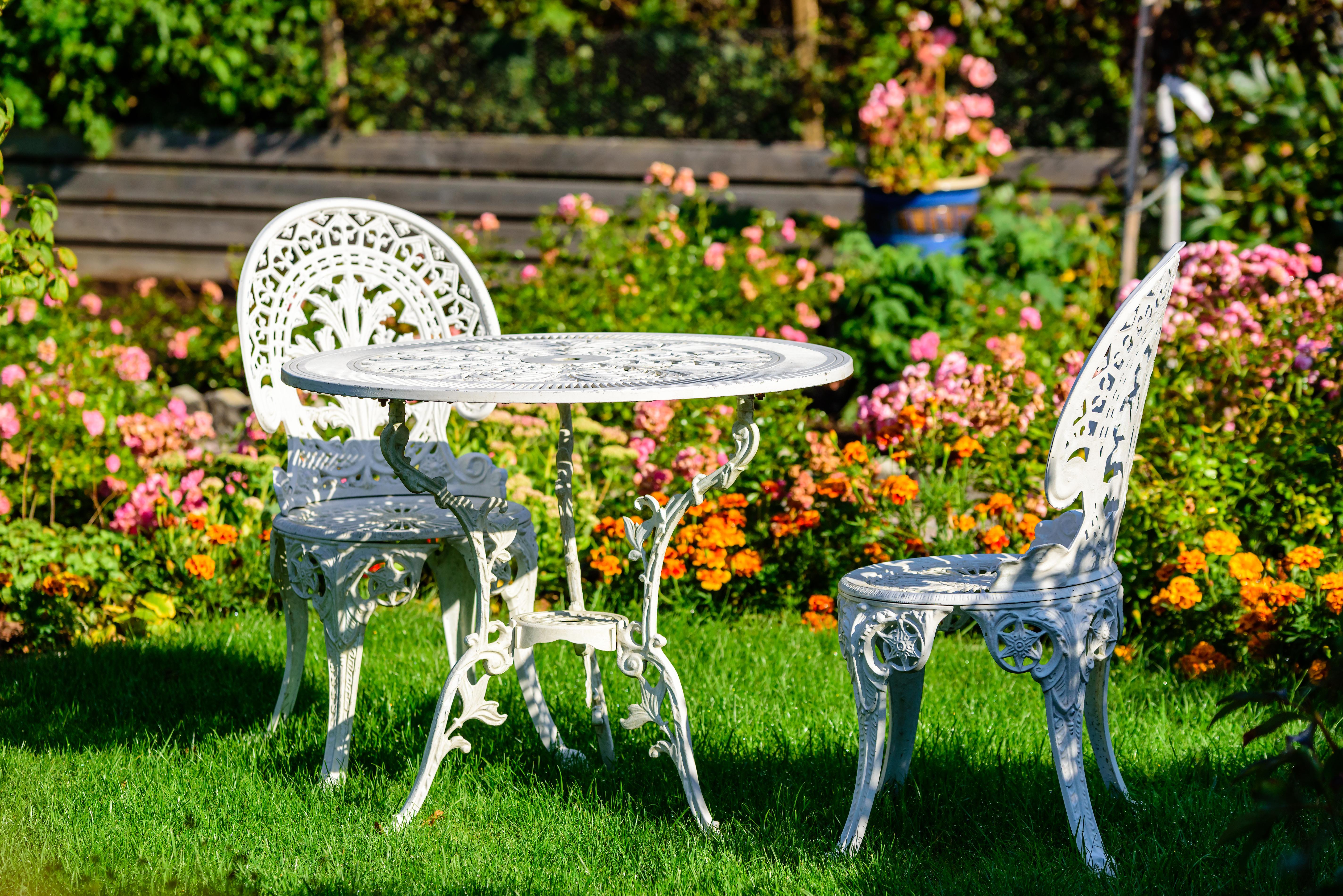 prevent rust patio furniture