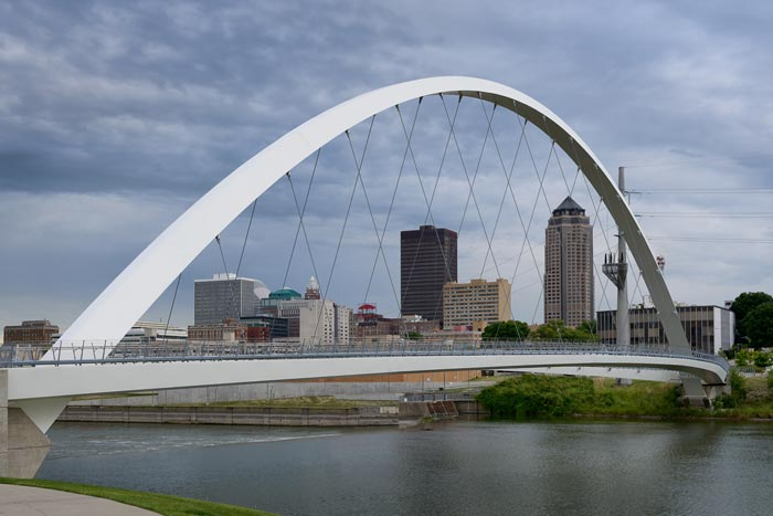 Des Moines, IA | Ranked 1st in top 10 for rainfall variance
