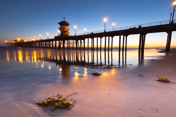 Huntington Beach, CA | Had the highest temp deviation of top 10