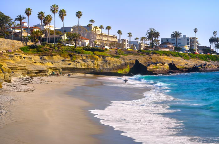 San Diego, CA | The average wind speed is 3 mph, but only deviated 1.13