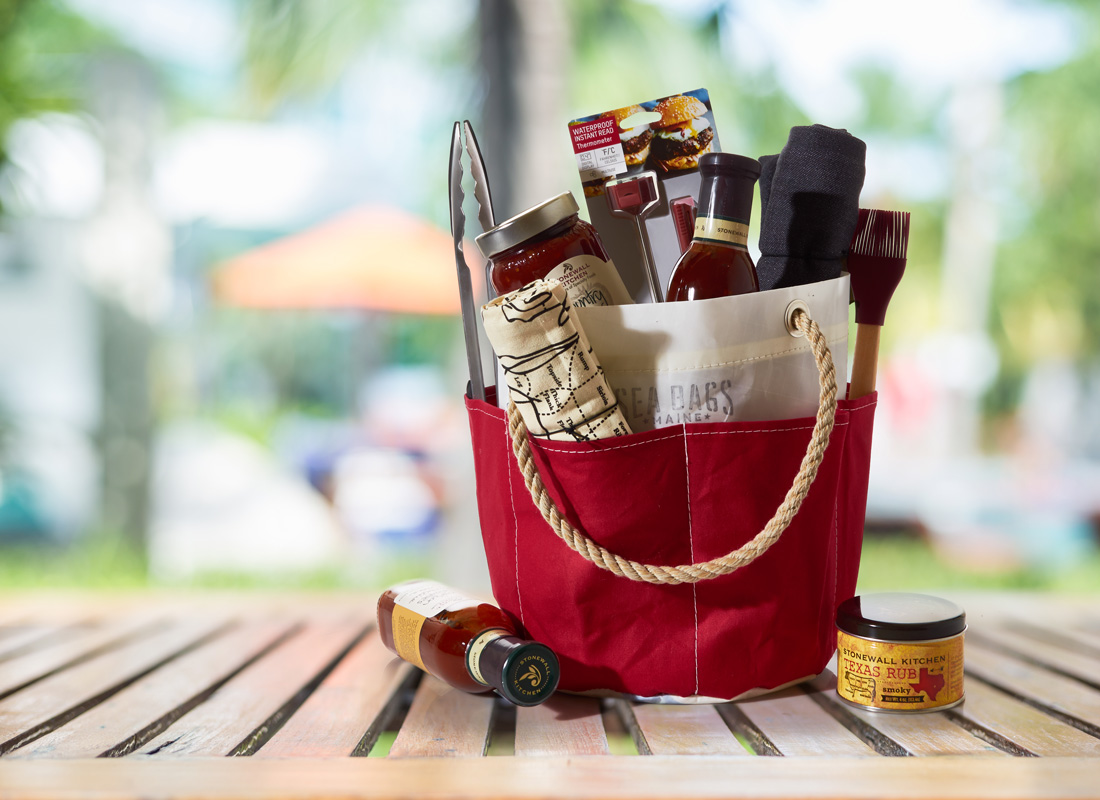 Grill Tool Bucket Bag Gift