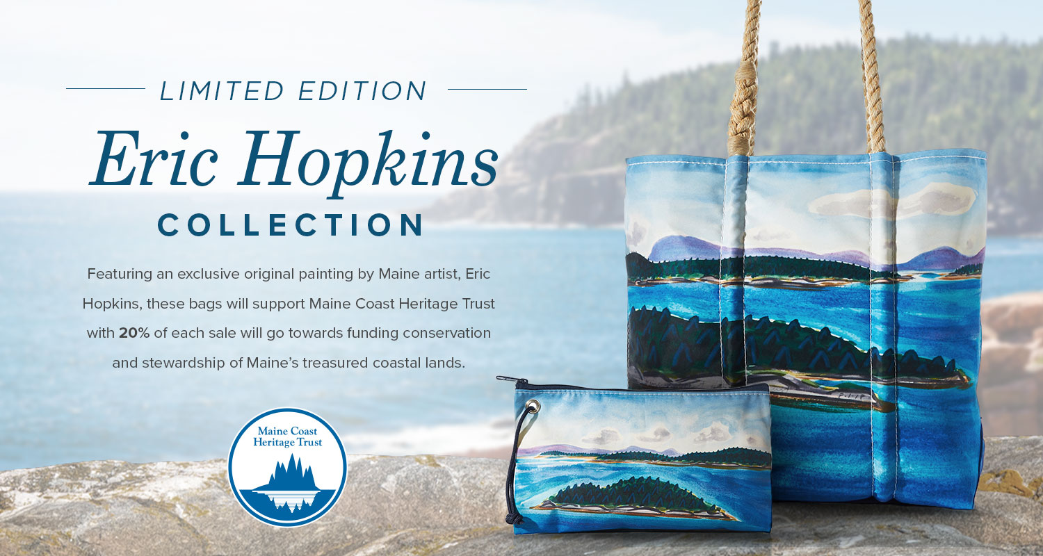 Limited Edition Eric Hopkins Watercolor Tote