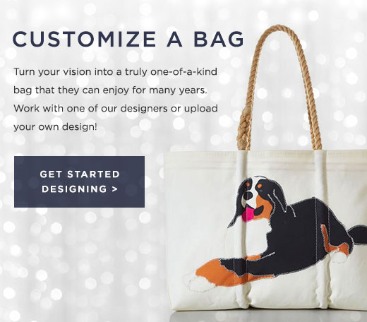 Customize A Bag - work with a designer or upload your own
