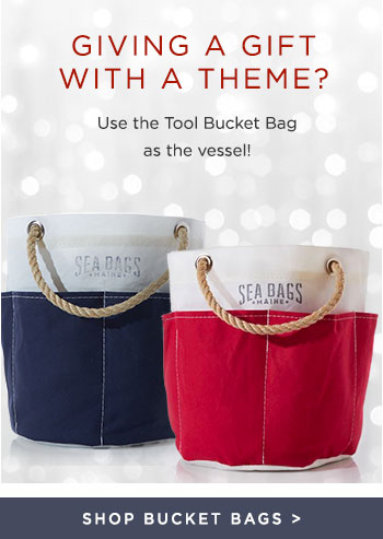 Giving a Gift with a theme? - Put it in a Tool Bucket Bag