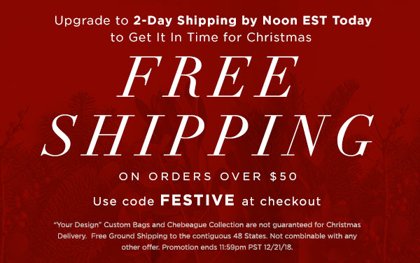 Free Shipping over $50 use code FESTIVE