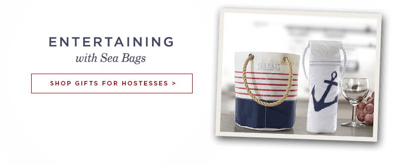 Entertain with Sea Bags - Shop Hostess Gifts