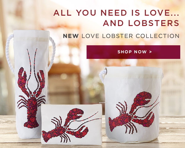 All you need is love and lobsters - Shop the Love Lobster Collection