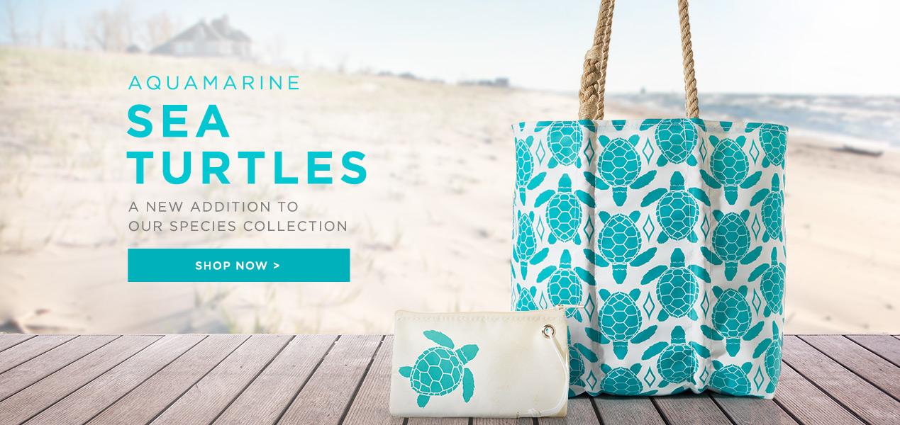 Shop the NEW Aquamarine Sea Turtles Now