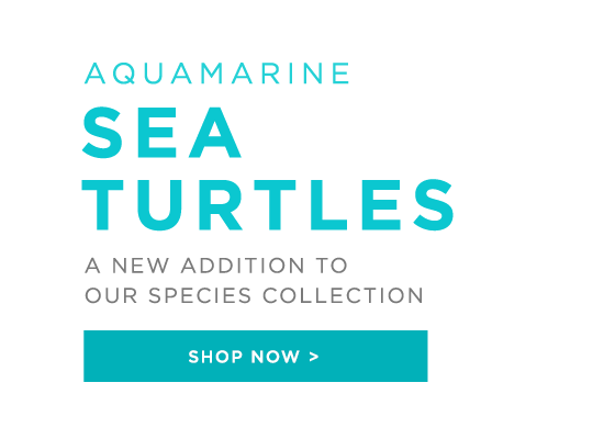 NEW to the Marine Collection - Aquamarine Sea Turtles