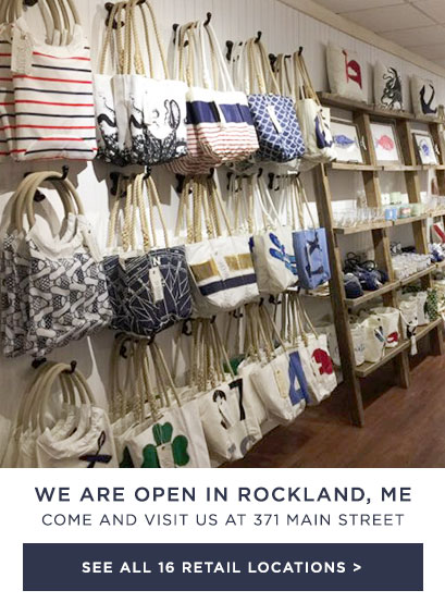 We just opened a Sea Bags Store in Rockland, Maine! - See all of our locations