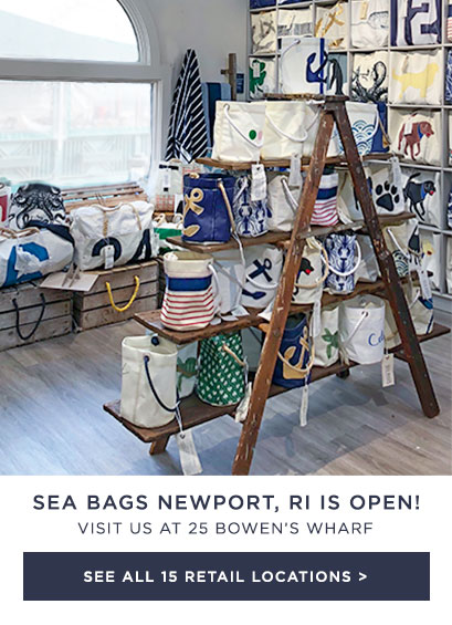 We just opened a Sea Bags Store in Newport, RI! - See all of our locations