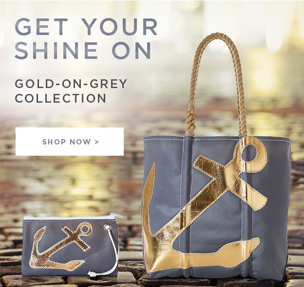 Get Your Shine ON - Gold on Grey Collection