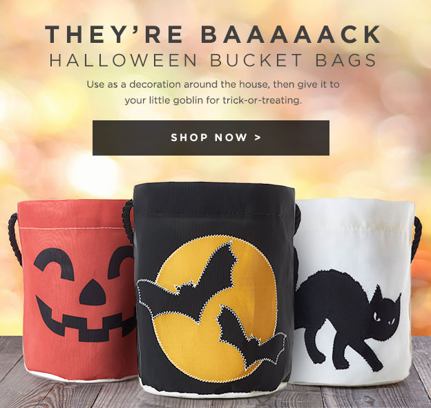 Halloween Bucket Bags Are Back - Shop Now