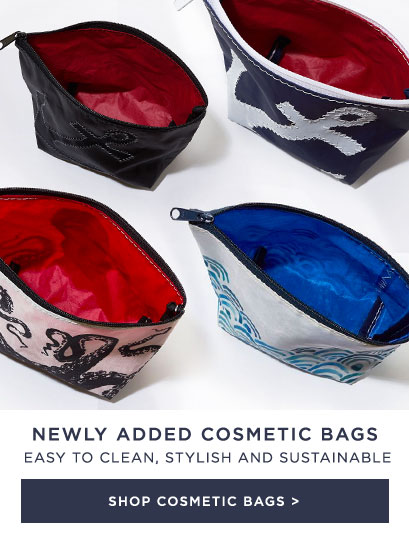 New Cosmetic Bags - easy to clean and stylish
