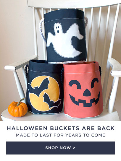 Halloween Bucket Bags made to last - Shop Now