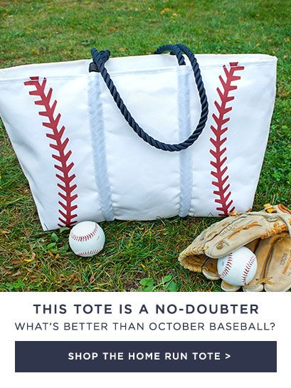 This Tote is a Home Run - Shop Now