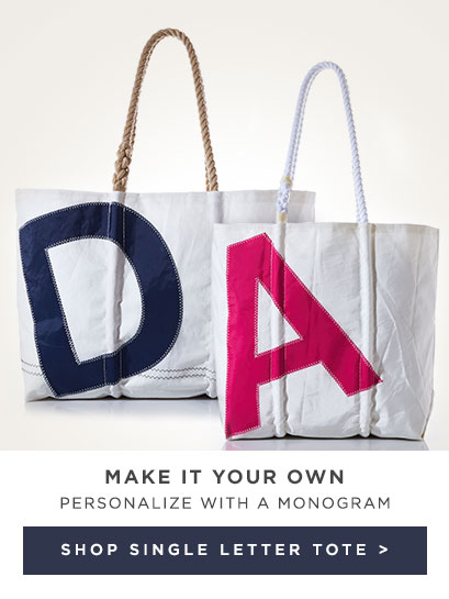 Make it your own - Shop Custom Letter Tote