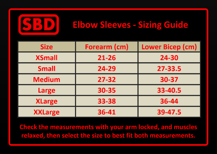0d94d5f107a SBD Elbow Sleeves Winter 2018 Limited Edition Performance Nutrition Plus