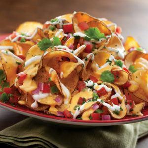 Get a free appetizer when you purchase two meals.
