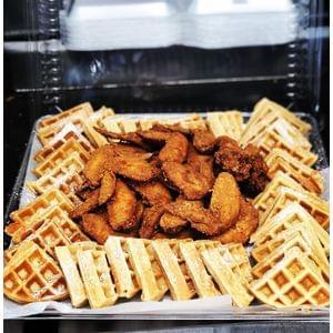 Wings & Waffle Platter