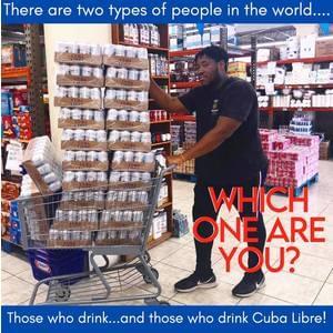 1x Free Case of Cuba Libre