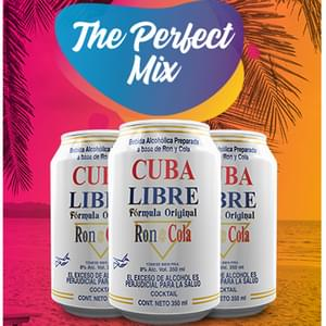 3 Pack Cuba Libre for $5