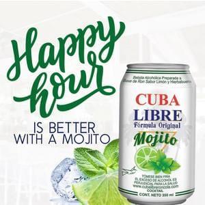 1x Case - Cuba Libre Mojito