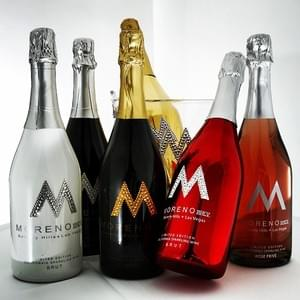 12 Per Case of Moreno Rose' or Brut @ $400