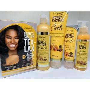 Originals Honey and Castor Oil Collection 10% OFF