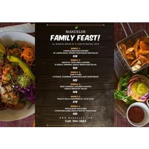 Family Feasts! LASAGNA