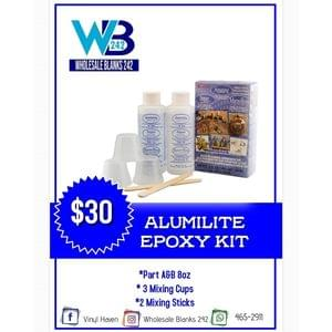 Alumilite Epoxy Kit - $30