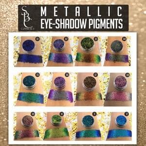 Metallic Eye Shadow Pigments