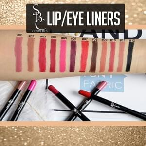 Lip & Eye Liners