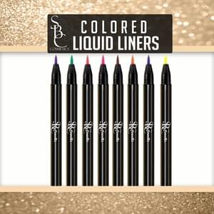 Colored Liquid Liners