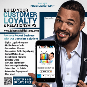 30 Days Free to Try Bahama Mobile Stamp
