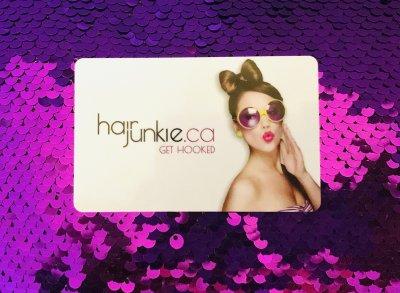 Hair Junkie Gift Card $25.00