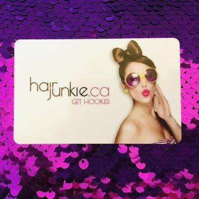 Hair Junkie Gift Card $50.00