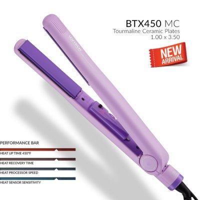 """Izutech 1"""" Flat Iron (Purple)"""