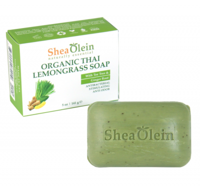 Organic Thai Lemongrass Soap - 5 oz.