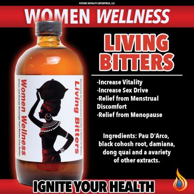 Women Wellness Living Bitters - 16 oz.
