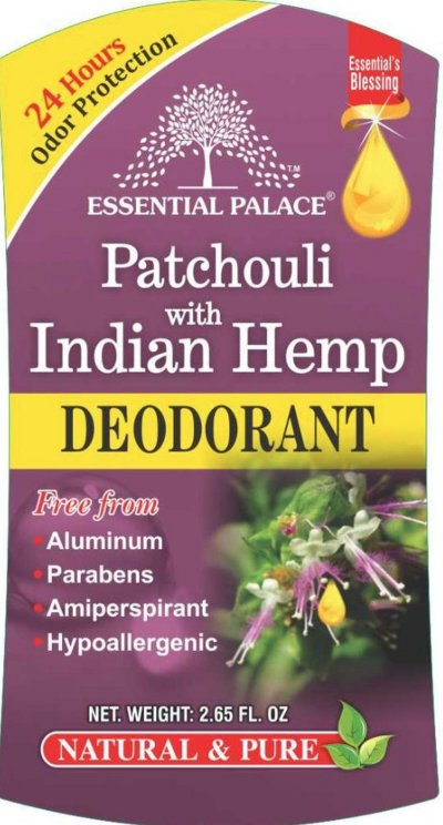 Patchouli & Indian Hemp Deodorant